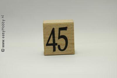 Stempel, Getal 45