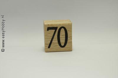 Stempel, Getal 70