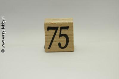 Stempel, Getal 75