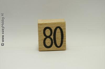 Stempel, Getal 80