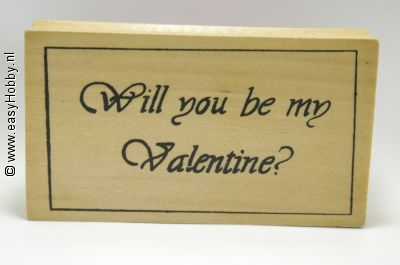 Stempel, Will you be my valentine?