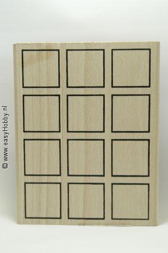 Stempel, Vakverdeling (12 vierkant)