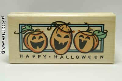Stempel, Happy halloween