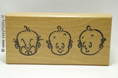 Stempel, Drie baby gezichten