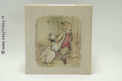 Stempel, Beatrix Potter Jemima and the foxy-whiskered Gentleman