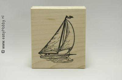 Stempel, Zeilboot