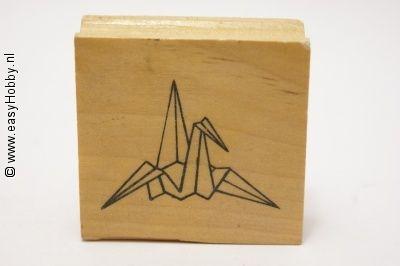 Stempel, Origamivogel