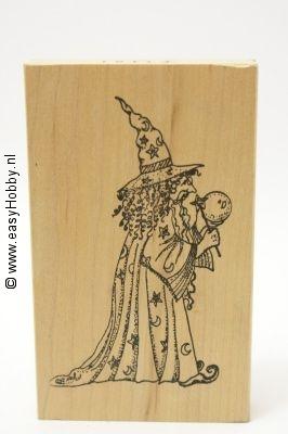 Stempel, Heks (Halloween)