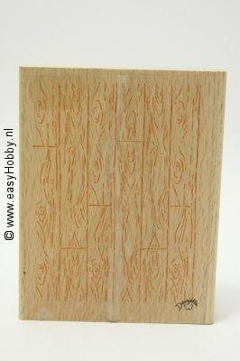 Stempel, Planken houtnerf achtergrond