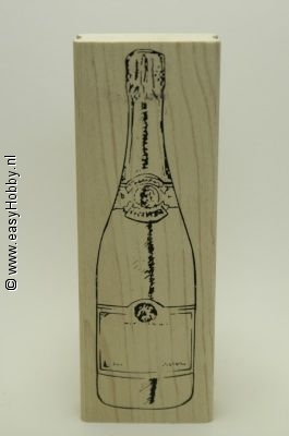 Stempel, Fles Champagne