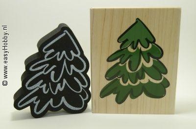 Stempel, Dee's Duet's Kerstboom