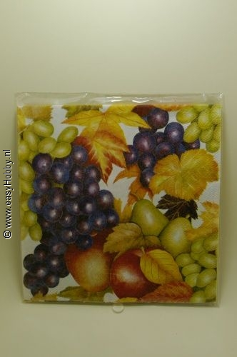 4 Servetten, Fruit (295)