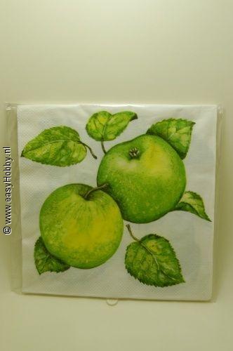 4 Servetten, Appels (306)
