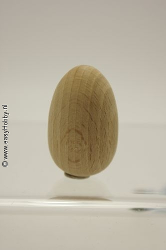 Ei van hout 45 x 30 mm