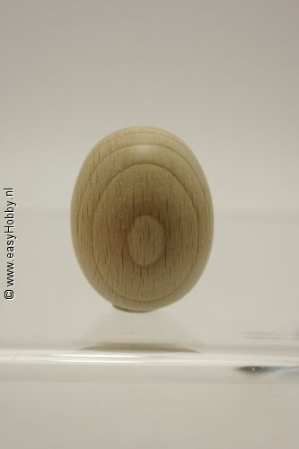 Ei van hout  30 x 40 mm