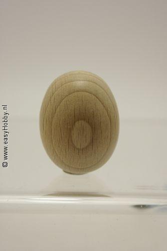 Ei van hout  30 x 40 mm