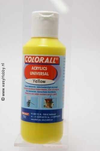 Acrylverf universeel geel