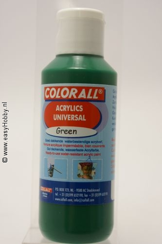 Acrylverf universeel groen