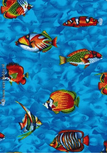 Stof nr. 93 Vissen