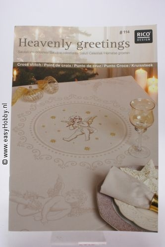 Rico design no. 114 Heavenly Greetings