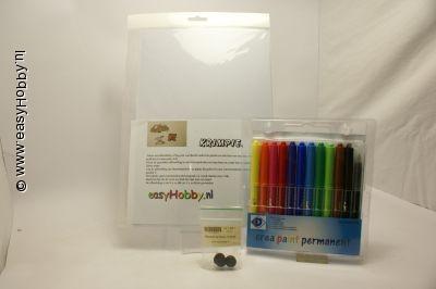 Krimpie Dinkie - magneten maken pakket