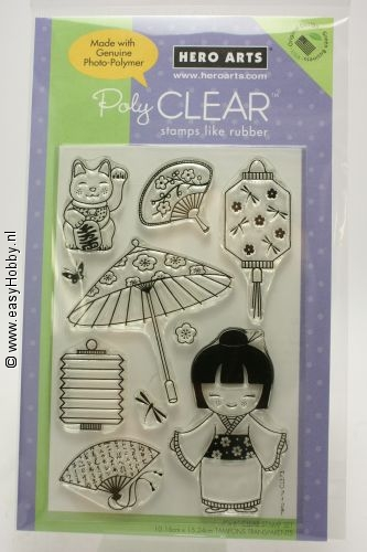 Clear stempel Good Fortune