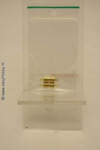 Magneetsluiting goudkleur