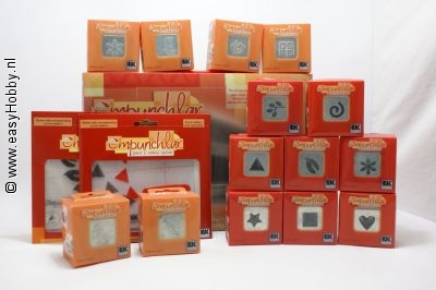 Ponsen - embossing set of Empunchlar 1