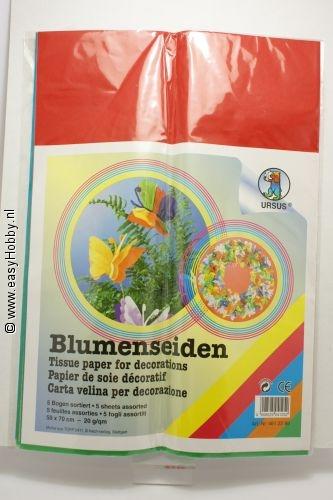 Zijdepapier, assorti kleuren