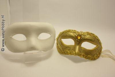 Masker om zelf te versieren