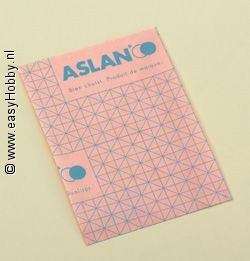 Aslan, transparant 50 x 120cm, enkelzijdig klevend