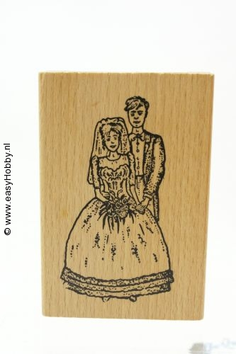 Stempel, bruidspaar