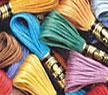 dmc mouline  kleur 3051