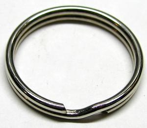 Splitring - sleutelring 10mm, 25 stuks